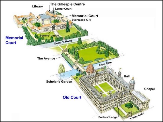 Кембриджский университет где находится